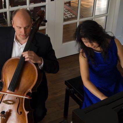 Duo Sapphire with Cellist Michal Palzewicz and pianist Chiharu Sai